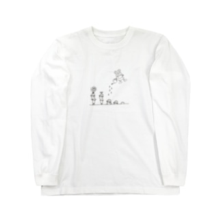 いわさわくん Long sleeve T-shirts