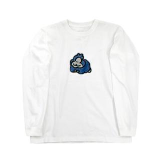 ごりら Long sleeve T-shirts