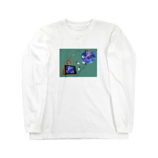 風邪薬 Long sleeve T-shirts