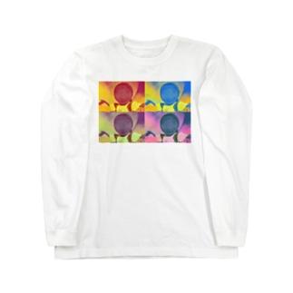 ジーニーゴサエ Long sleeve T-shirts