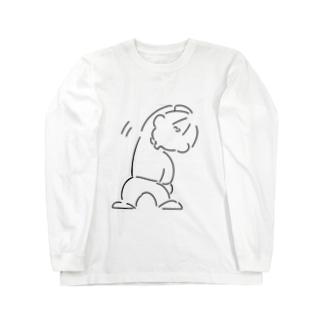 幸せになれるTシャツ Long sleeve T-shirts
