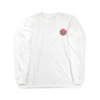 レッドガーネット (小) Long sleeve T-shirts