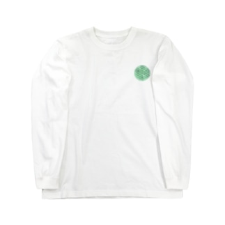 エメラルド (小) Long sleeve T-shirts