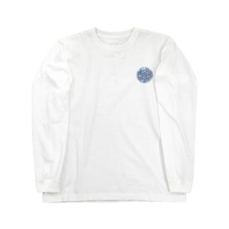 ブルーサファイア (小) Long sleeve T-shirts