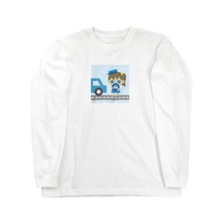運転ガール! Long Sleeve T-Shirt