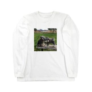 トランプくんとオリバーくん Long sleeve T-shirts