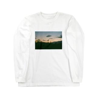 夕暮れのおさんぽ Long sleeve T-shirts