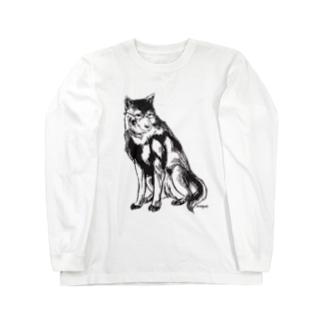 MEGANE-Dog. Long sleeve T-shirts