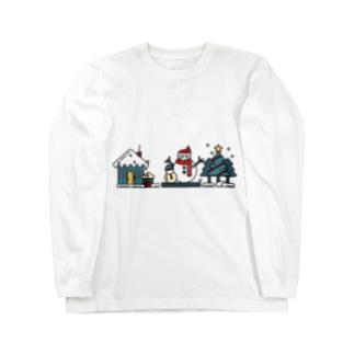 冬の風物詩 Long sleeve T-shirts