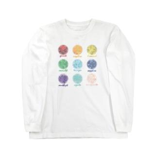 宝石展示 Long sleeve T-shirts