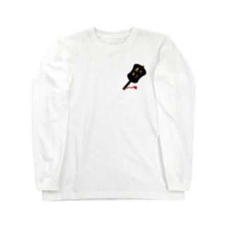 相撲軍配 Long sleeve T-shirts