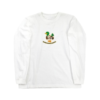 スーパー鴨ちゃんず Long sleeve T-shirts