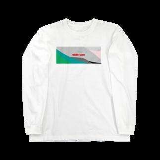 鈍島製粉のKASEI gan Long sleeve T-shirts
