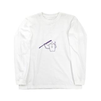 【自分磨き】 Long sleeve T-shirts