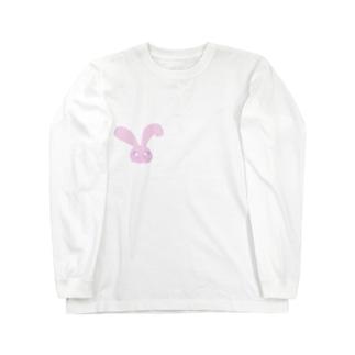 moca.うさちゃん Long sleeve T-shirts