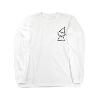 手書きサンタ Long sleeve T-shirts