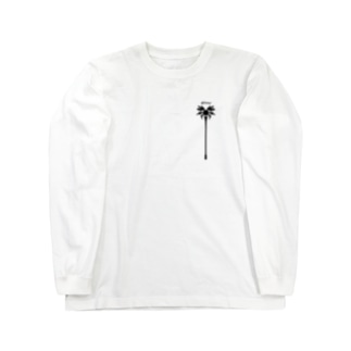"""""""Wizard"""" ウィザード_White Long sleeve T-shirts"""