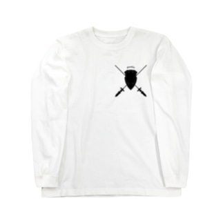 """""""Guardian"""" ガーディアン_White Long sleeve T-shirts"""