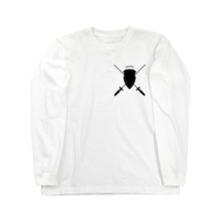"Studio Originの""Guardian"" ガーディアン_White Long sleeve T-shirts"