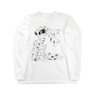 Mummy the Rabbit 壱 Long sleeve T-shirts