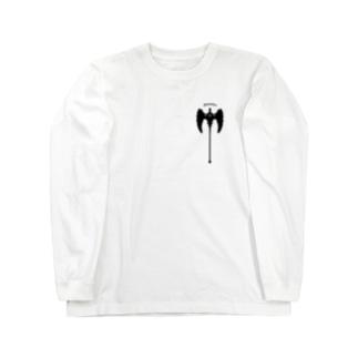 """Berserker"" バーサーカー_White Long sleeve T-shirts"
