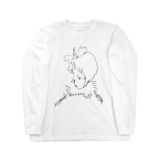 fm_36b_花椿 Long sleeve T-shirts