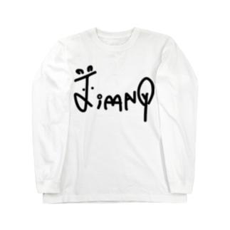 jimny★baby's   オリジナルフォント Long sleeve T-shirts