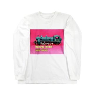 鉄道模型:スイスのSL Long sleeve T-shirts