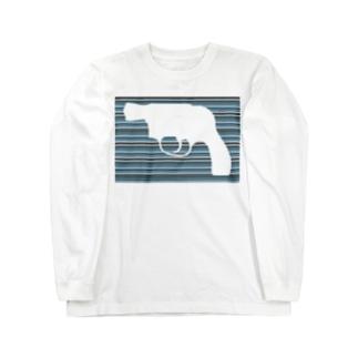 Gun Long sleeve T-shirts