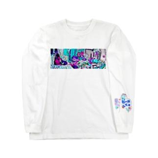 ゴミ屋敷 Long sleeve T-shirts