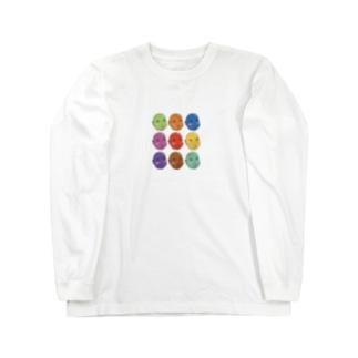 ビーンズちゃん Long sleeve T-shirts