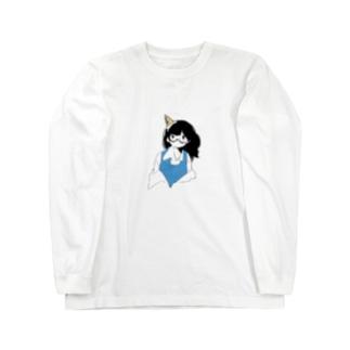 無気力 Long sleeve T-shirts