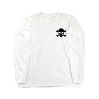 海賊部髑髏科2 Long sleeve T-shirts