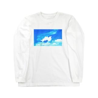 夏空のエンジェル Long sleeve T-shirts