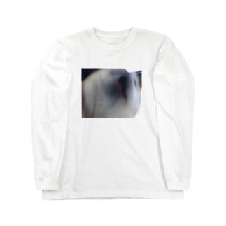 柴犬ラッピー Long sleeve T-shirts