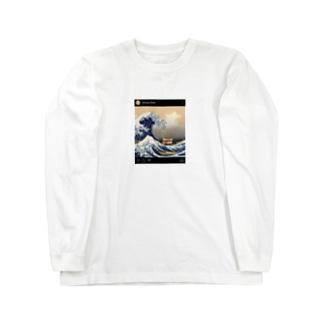松屋グッズ Long sleeve T-shirts