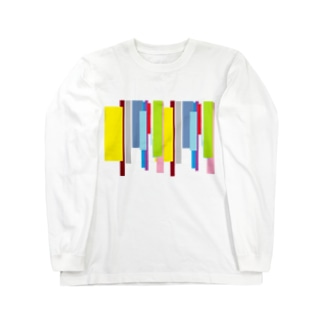 短冊 Long sleeve T-shirts