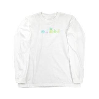 トロピカルパンダ Long sleeve T-shirts