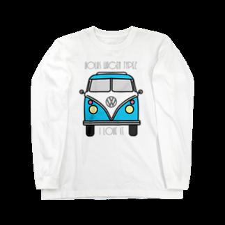 JOKERS FACTORYのVOLKSWAGEN TYPE2 Long sleeve T-shirts
