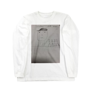 leader and  brothers Long sleeve T-shirts