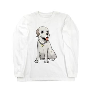 おすわりするジュディ Long sleeve T-shirts