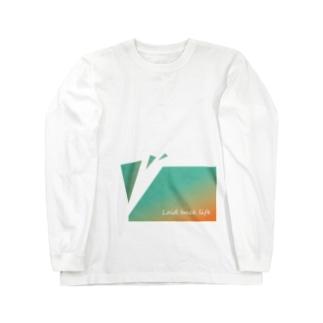 ゆるく生きる Long sleeve T-shirts