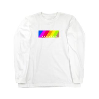 にじいろシリーズ Long sleeve T-shirts