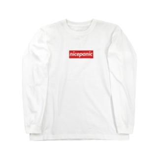 nicepanic ロゴ ロングスリーブTシャツ Long sleeve T-shirts