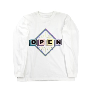 OPEN! Long sleeve T-shirts