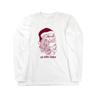 ダ・ヴィンチ サンタ  Long sleeve T-shirts