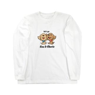 エヴァとシェリー Long sleeve T-shirts