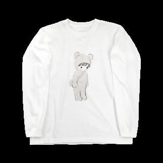 g g gのくまろんぱーす Long sleeve T-shirts
