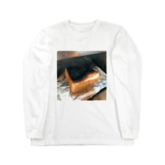 焦げパン Long sleeve T-shirts