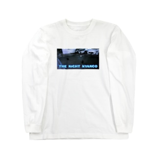 THE NiGHT NYANCO Long sleeve T-shirts